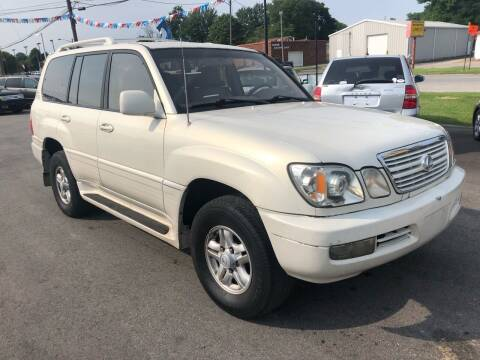 1999 Lexus LX 470 for sale at Wise Investments Auto Sales in Sellersburg IN