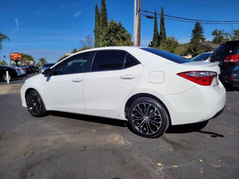 2016 Toyota Corolla for sale at Geiman Motors in Escondido CA