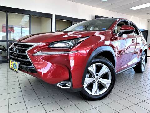 2017 Lexus NX 200t for sale at SAINT CHARLES MOTORCARS in Saint Charles IL