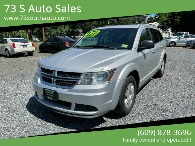 2012 Dodge Journey for sale at 73 S Auto Sales in Hammonton NJ