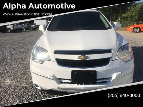 2012 Chevrolet Captiva Sport for sale at Alpha Automotive in Odenville AL