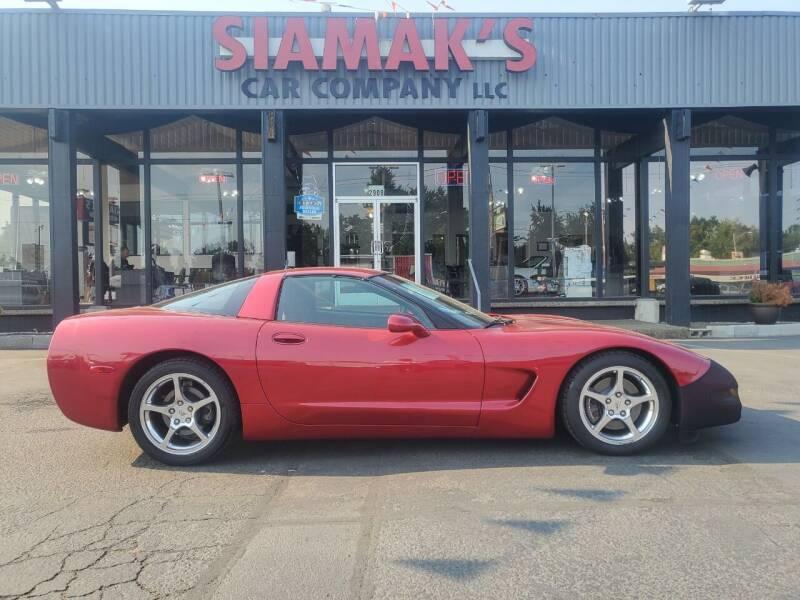 2002 Chevrolet Corvette for sale at Siamak's Car Company llc in Salem OR