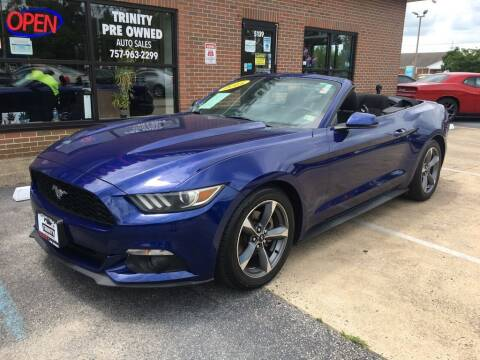 2015 Ford Mustang for sale at Bankruptcy Car Financing in Norfolk VA