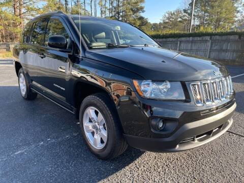 2017 Jeep Compass for sale at Glamorous Motors in Woodstock GA