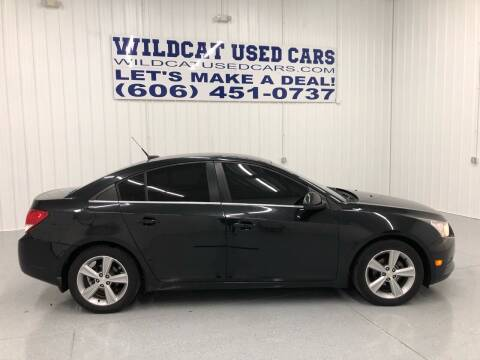 2014 Chevrolet Cruze for sale at Wildcat Used Cars in Somerset KY