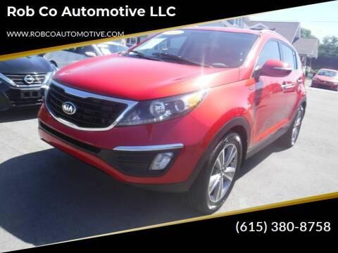 2014 Kia Sportage for sale at Rob Co Automotive LLC in Springfield TN
