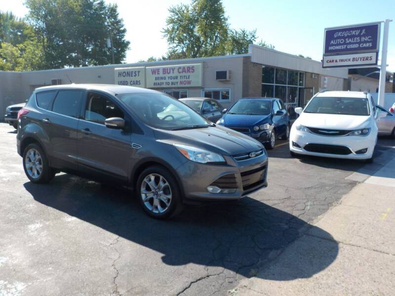 2013 Ford Escape for sale at Gregory J Auto Sales in Roseville MI