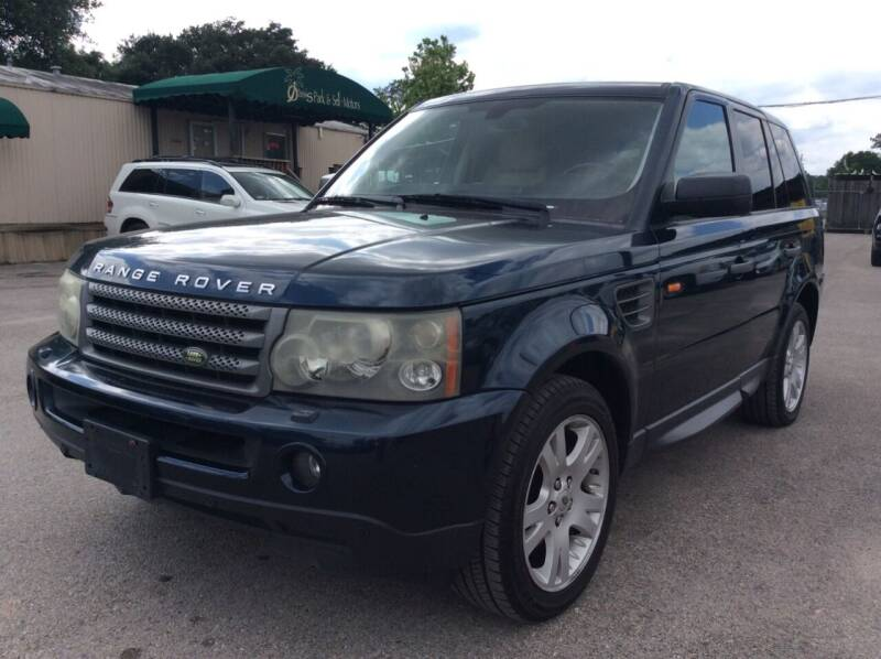 2006 Land Rover Range Rover Sport for sale at OASIS PARK & SELL in Spring TX