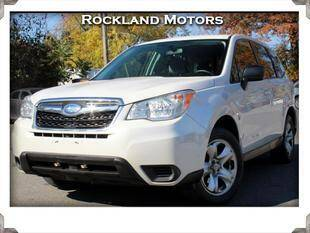 2014 Subaru Forester for sale at Rockland Automall - Rockland Motors in West Nyack NY