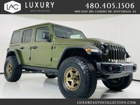 2021 Jeep Wrangler Unlimited for sale at Luxury Auto Collection in Scottsdale AZ