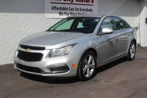 2015 Chevrolet Cruze for sale at Oak City Motors in Garner NC