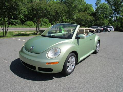 2007 Volkswagen New Beetle Convertible for sale at Pristine Auto Sales in Monroe NC