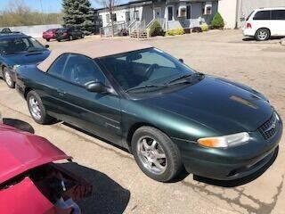 2000 Chrysler Sebring for sale at WELLER BUDGET LOT in Grand Rapids MI