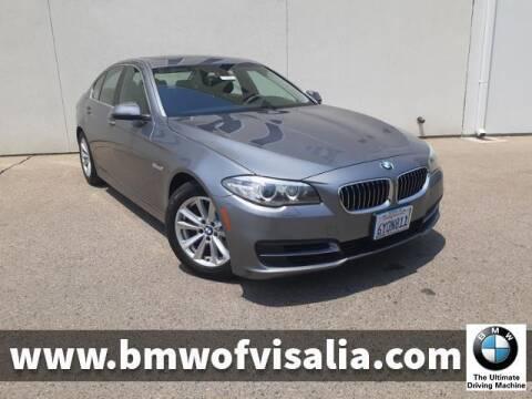 2014 BMW 5 Series for sale at BMW OF VISALIA in Visalia CA