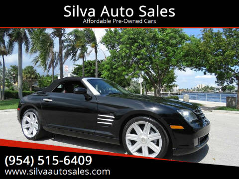 2005 Chrysler Crossfire for sale at Silva Auto Sales in Pompano Beach FL