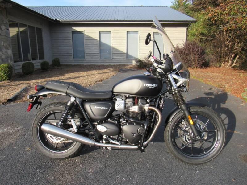 2018 Triumph Street Twin for sale at Blue Ridge Riders in Granite Falls NC