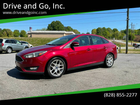 2015 Ford Focus for sale at Drive and Go, Inc. in Hickory NC