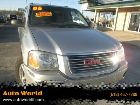 2006 GMC Envoy for sale at Auto World in Carbondale IL