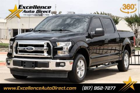 2017 Ford F-150 for sale at Excellence Auto Direct in Euless TX