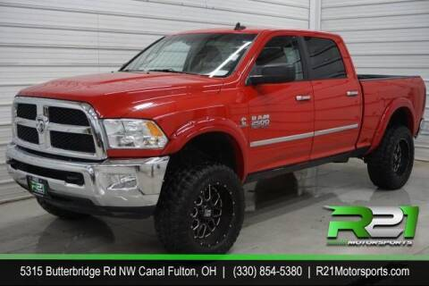 2016 RAM Ram Pickup 2500 for sale at Route 21 Auto Sales in Canal Fulton OH