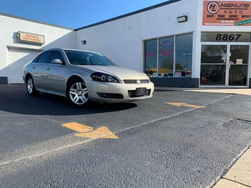 2011 Chevrolet Impala for sale at HIGHLINE AUTO LLC in Kenosha WI
