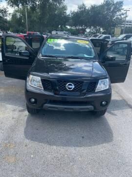 2011 Nissan Frontier for sale at DAN'S DEALS ON WHEELS in Davie FL