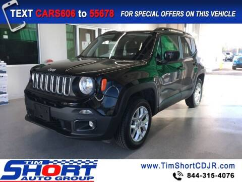 2018 Jeep Renegade for sale at Tim Short Chrysler in Morehead KY