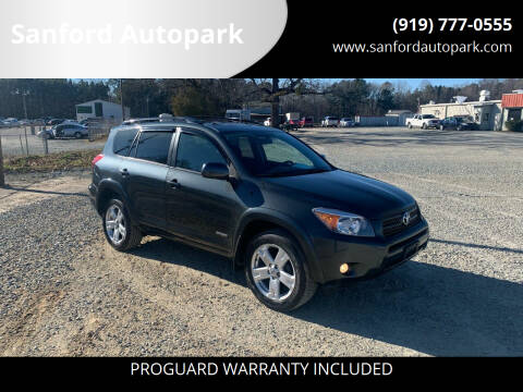 2006 Toyota RAV4 for sale at Sanford Autopark in Sanford NC