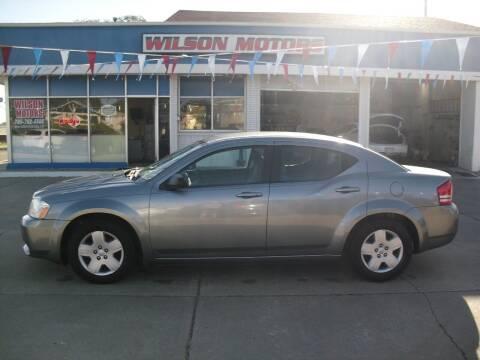 2008 Dodge Avenger for sale at Wilson Motors in Junction City KS