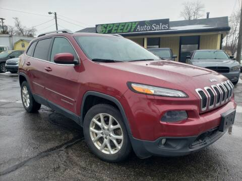 2014 Jeep Cherokee for sale at speedy auto sales in Indianapolis IN