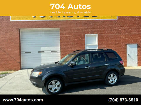 2010 Subaru Forester for sale at 704 Autos in Statesville NC