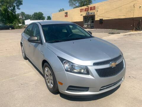 2012 Chevrolet Cruze for sale at City Auto Sales in Roseville MI