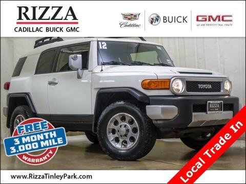 2012 Toyota FJ Cruiser for sale at Rizza Buick GMC Cadillac in Tinley Park IL