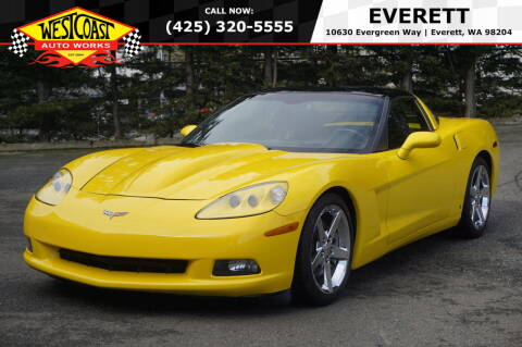 2007 Chevrolet Corvette for sale at West Coast Auto Works in Edmonds WA