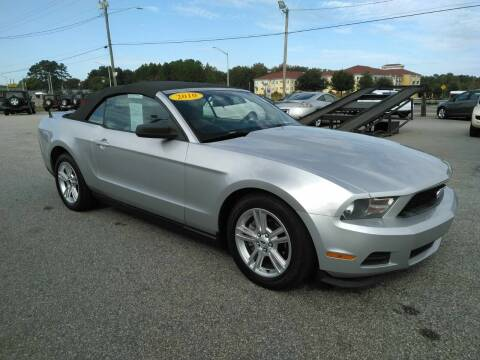 2010 Ford Mustang for sale at Kelly & Kelly Supermarket of Cars in Fayetteville NC