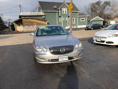 2008 Buick LaCrosse for sale at SHEFFIELD MOTORS INC in Kenosha WI