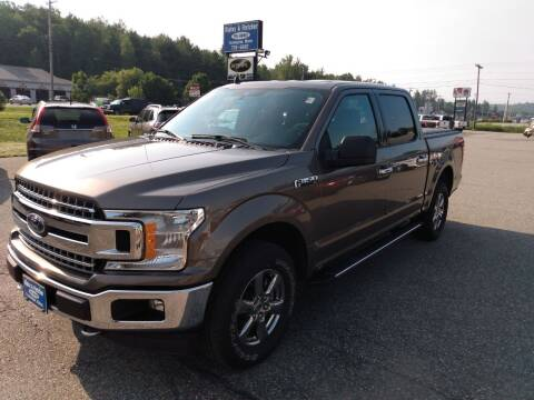 2020 Ford F-150 for sale at Ripley & Fletcher Pre-Owned Sales & Service in Farmington ME