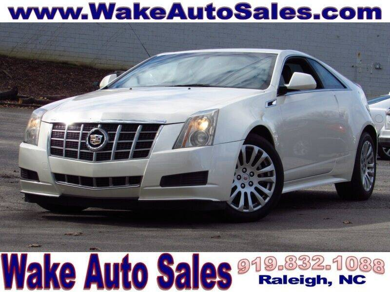 2012 Cadillac CTS for sale at Wake Auto Sales Inc in Raleigh NC