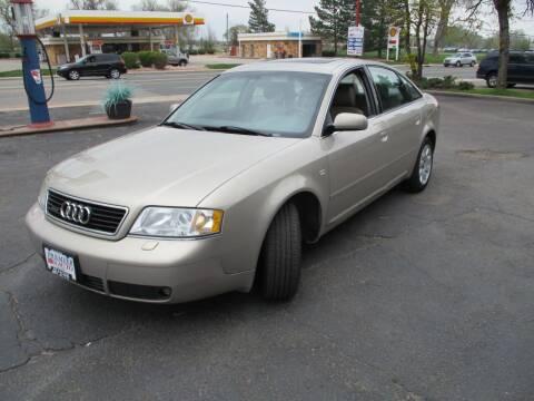 2000 Audi A6 for sale at Premier Auto in Wheat Ridge CO