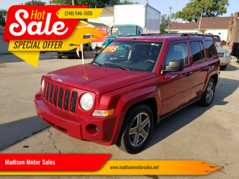 2009 Jeep Patriot for sale at Madison Motor Sales in Madison Heights MI