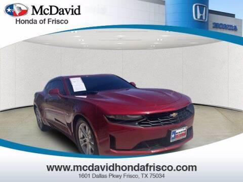 2019 Chevrolet Camaro for sale at DAVID McDAVID HONDA OF IRVING in Irving TX