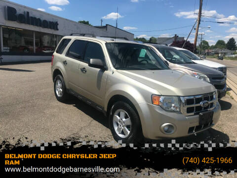 2012 Ford Escape for sale at BELMONT DODGE CHRYSLER JEEP RAM in Barnesville OH