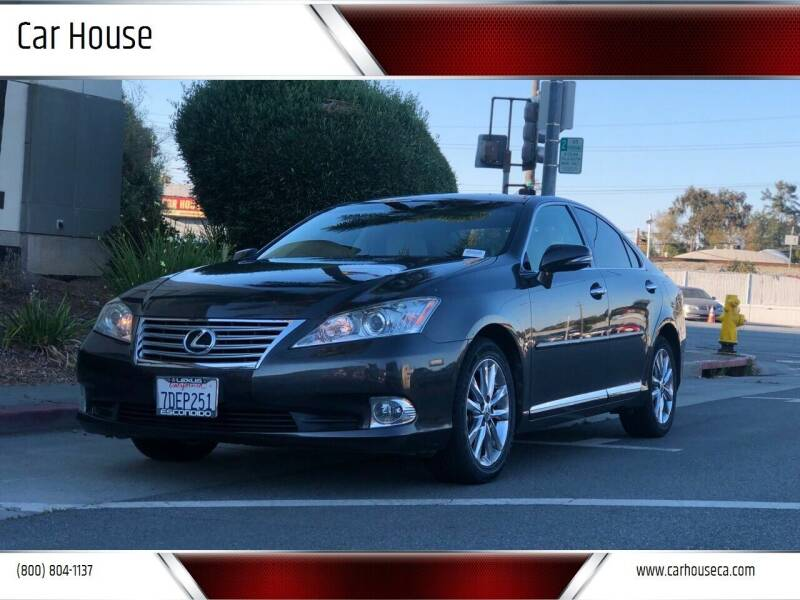 2012 Lexus ES 350 for sale at Car House in San Mateo CA