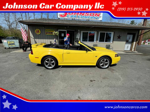 2003 Ford Mustang for sale at Johnson Car Company llc in Crown Point IN