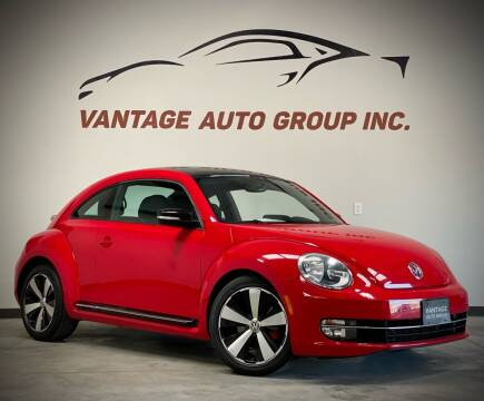 2012 Volkswagen Beetle for sale at Vantage Auto Group Inc in Fresno CA