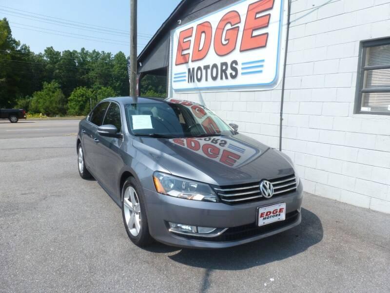 2015 Volkswagen Passat for sale at Edge Motors in Mooresville NC