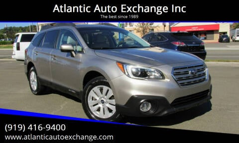 2016 Subaru Outback for sale at Atlantic Auto Exchange Inc in Durham NC