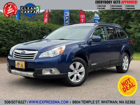 2011 Subaru Outback for sale at Auto Sales Express in Whitman MA