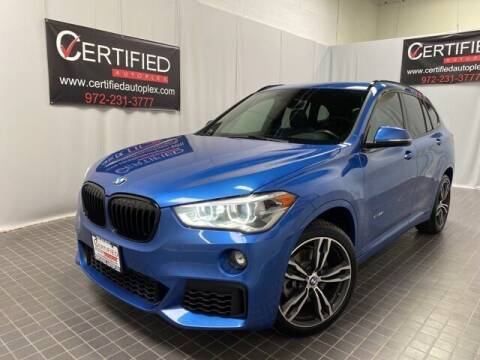 2018 BMW X1 for sale at CERTIFIED AUTOPLEX INC in Dallas TX