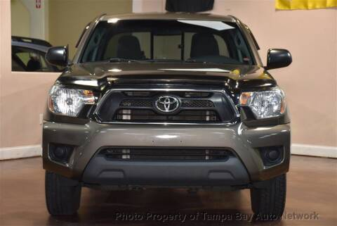 2014 Toyota Tacoma for sale at Tampa Bay AutoNetwork in Tampa FL